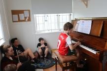 Levi at Music Club